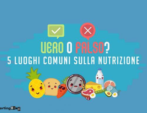 5 luoghi comuni sulla nutrizione domande e risposte