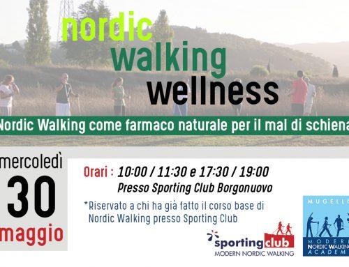 Nordic Walking Wellness – Evento Mercoledì 30 Maggio