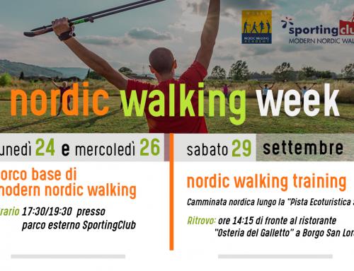 Nordic Walking Week 2018