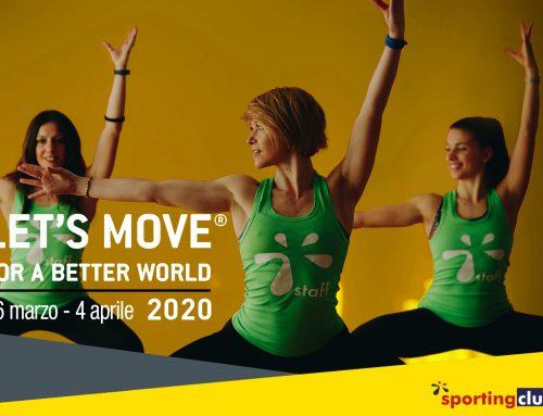Let's Move 2020 – Cosa aspetti, muoviti!
